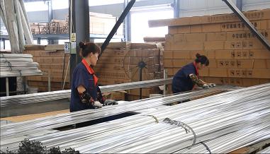 Aluminum spacer bar package,aluminum spacer,aluminum spacer bar,insulating glass  spacer