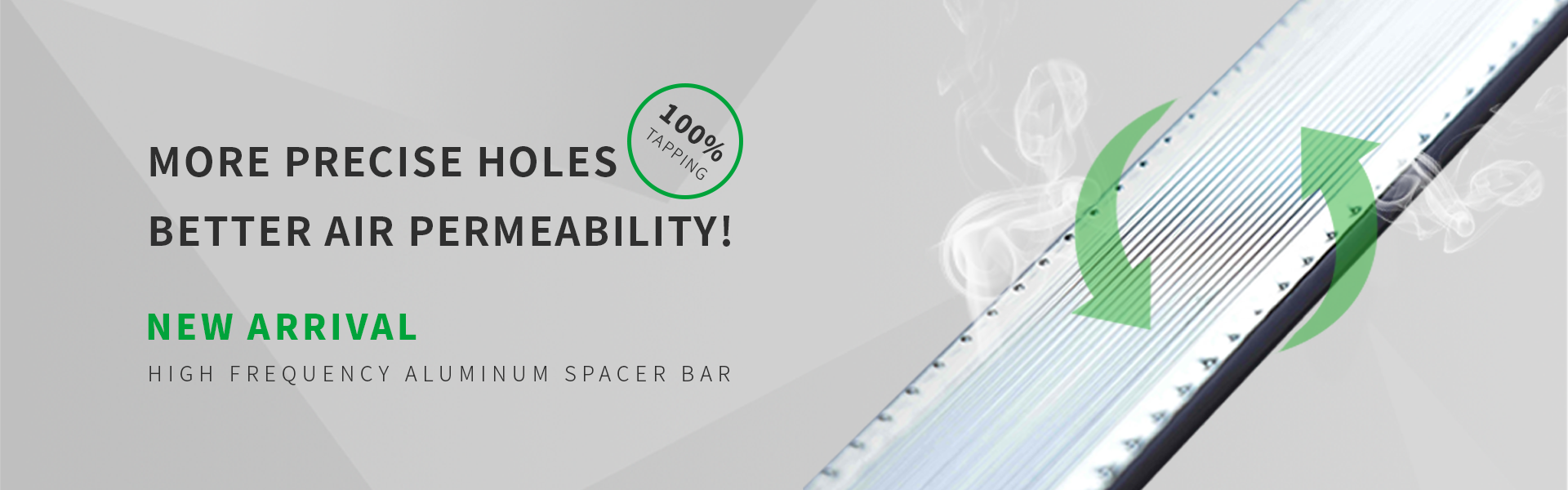 oyade spacer bar for insulated glass/double glazing